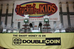 Double Coin - Truckin for Kids trophies