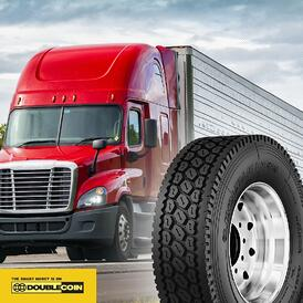 Double Coin RLB400 & red truck