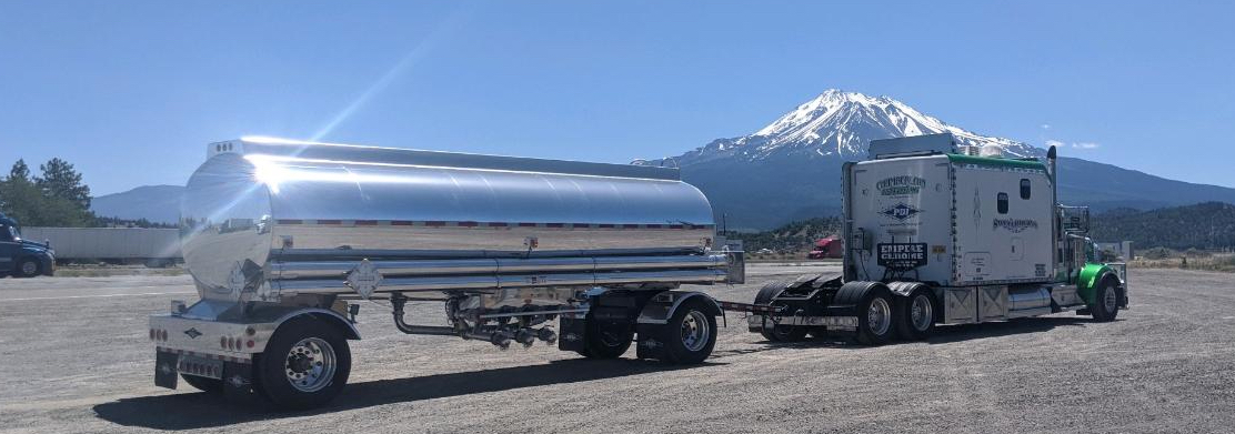 Glen Rice truck with mountain